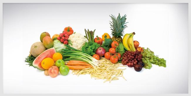 Contaminación de frutas y verduras