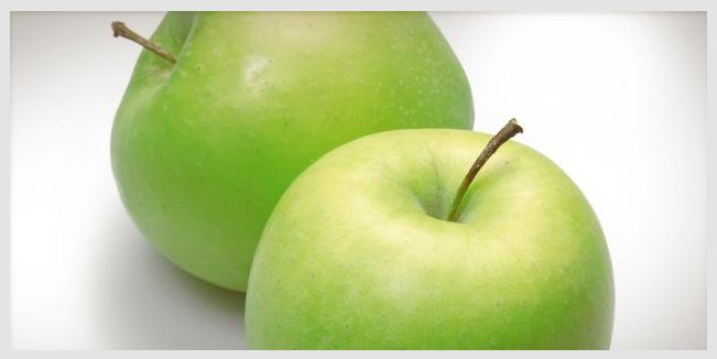 Antibióticos en las manzanas