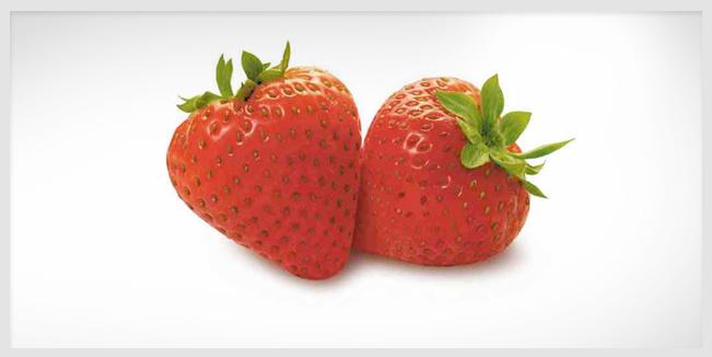 Lado oscuro de las fresas