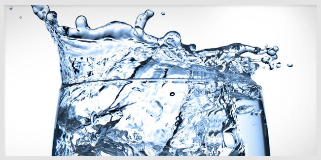 Es potable el H2O que consumes.