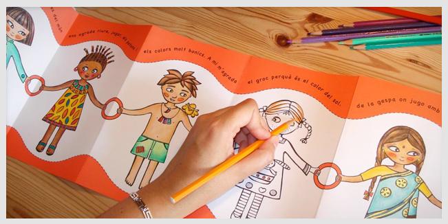 Contacto de niños con la cultura