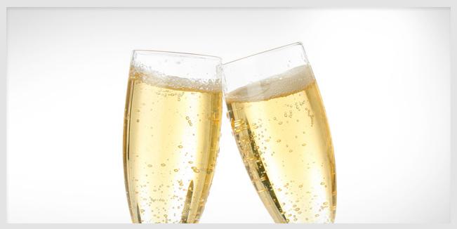 champaña clave para una excelente memoria