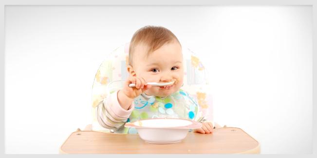 Los 5 peores alimentos para los bebes