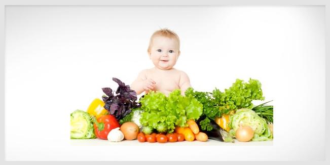 Cómo lograr que tu bebé coma verduras.