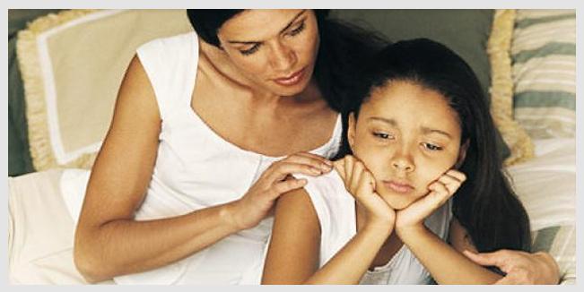 Niños que sufren de depresión menores de 5 años