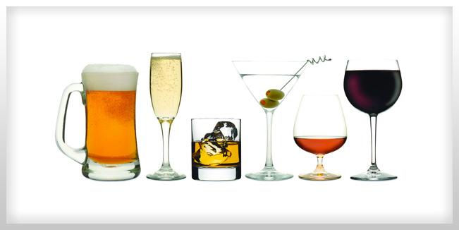 tus hábitos de tomar alcohol