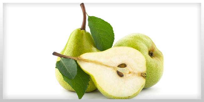 Estudio in vitro observa el rol de las peras en el manejo de la hipertensión y diabetes tipo 2.