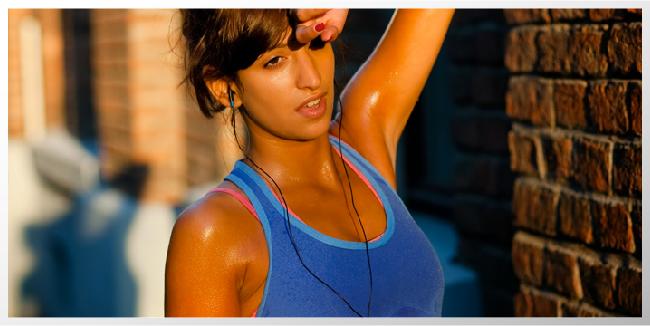 hacer ejercicio hasta sudar
