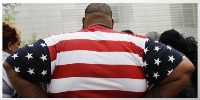 Las tasas de obesidad de USA 'alza por primera vez desde 2004'