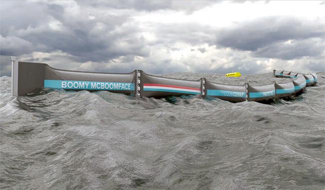 Prototipo de Limpieza Marina Holandés acerca un paso más la Solución a la Basura de Plásticos del Pacífico