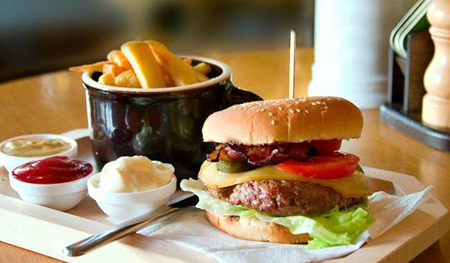 Peligro en las hamburguesas