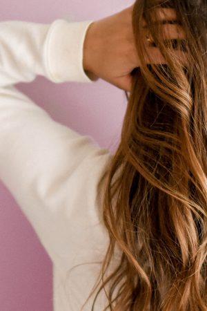 cabello sano y fuerte
